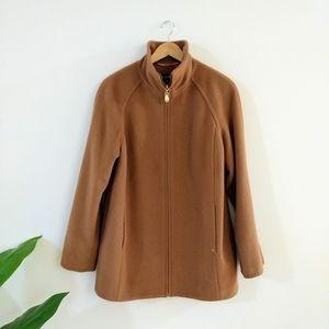 Sale 🔥Ellen Tracy tan wool pea coat